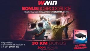 Ne propustite sjajnu priliku: Wwin – bonus dobrodošlice