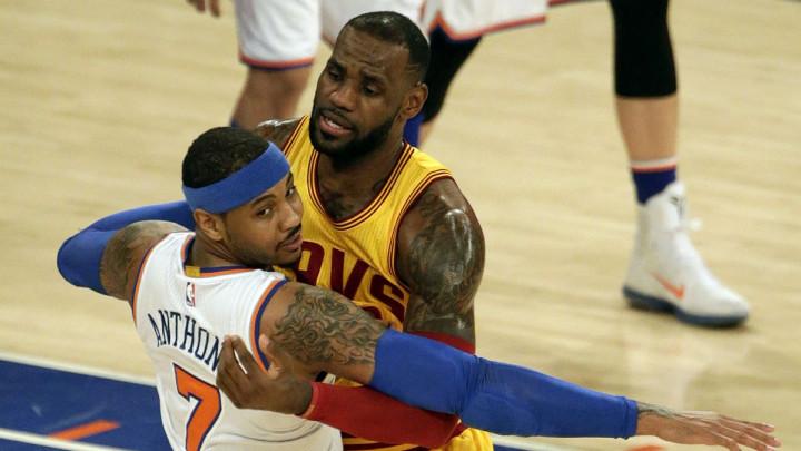 LeBron: Melo još može igrati, bilo bi mi drago da dođe u Lakerse