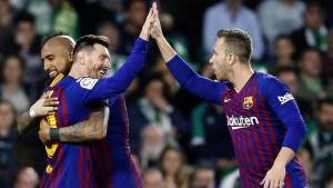 Messi i društvo sa klupe se na čudan način zabavljali u toku utakmice protiv Villarreala