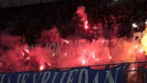 Englezi zatečeni bakljadom sa stadiona Grbavica