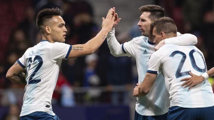 Messi hvalio Martineza: Snažan je, dobar dribler, postiže golove...
