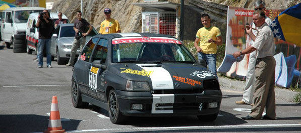 U Cazinu međunarodna brdska auto trka