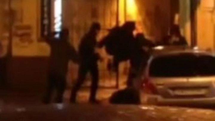 Uznemirujući snimak brutalnog napada na članove Partizana
