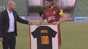 Mersudin Ahmetović igra 100. utakmicu za Sarajevo