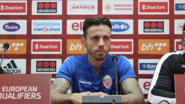 Salanović o susretu protiv BiH: Volio bih dati gol, ali ga ne bih slavio iz poštovanja!