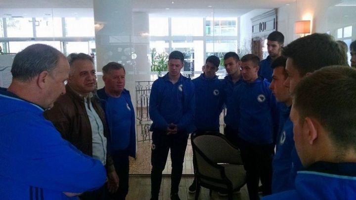 Milorad Sofrenić poželio sreću bh. kadetima
