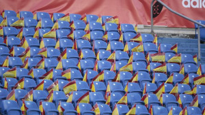Hiljade zastava Španije pred meč protiv BiH