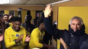 Vahid Halilhodžić ušao u svlačionicu i oduševio fudbalere