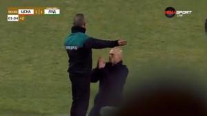Nevjerovatne scene iz Bugarske: Trener kleknuo pred sudiju i molio ga da više produži meč