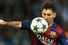 Lionel Messi najbolji igrač Evrope