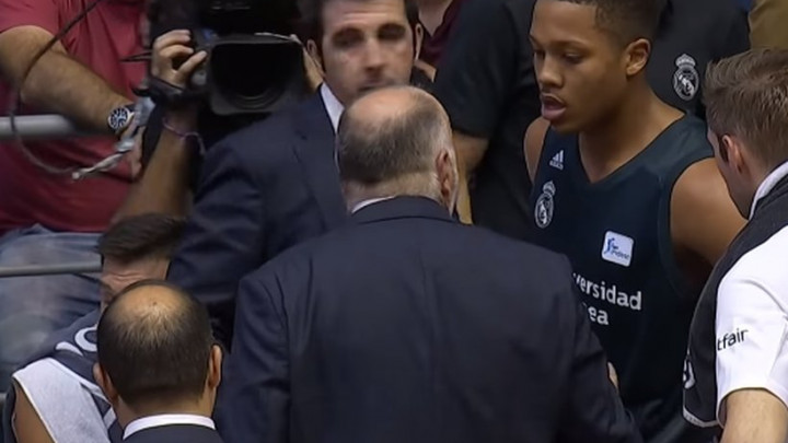 Pablo Laso malretirao mladog košarkaša Reala