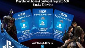 PlayStation Bon od sada i na kioscima iNovina!