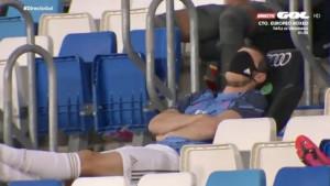 Gareth Bale zaspao na tribini tokom utakmice Real Madrida i Alavesa