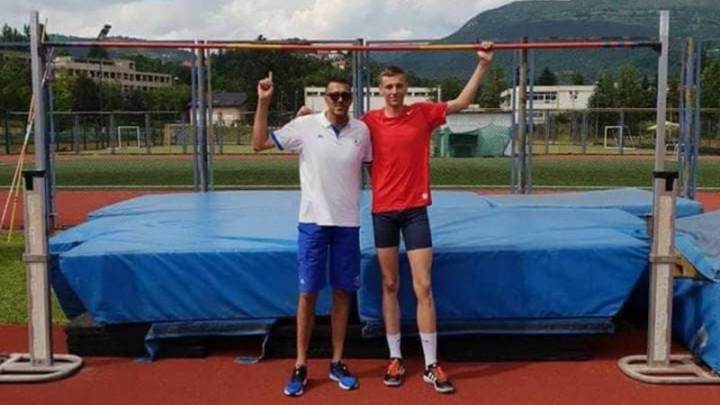 Maid Redžić u Srbiji  izjednačio lični rekord u dvorani
