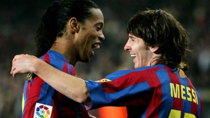 Messi: Nikada neću zaboraviti Ronaldinhovu asistenciju za moj prvi gol