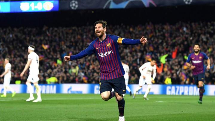 Messijeva čarolija protiv Uniteda proglašena za gol sedmice u Ligi prvaka