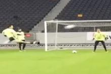 Ibra 'poludio' na treningu: Dvije majstorije u 5 sekundi!