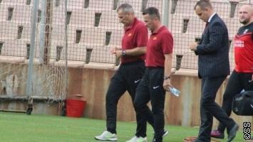 Švrakić vodio trening Sarajeva?