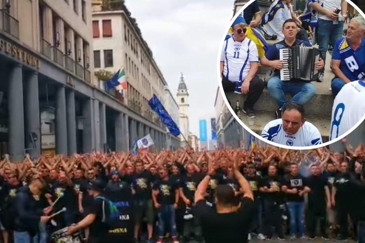 Niko kao Bosanci i Hercegovci: Pogledajte kakav spektakl je bio u centru Torina prije dvije godine