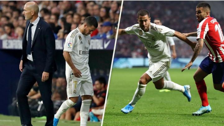 Zidane stao u odbranu Hazarda: Ista stvar se desila meni, u Madridu je sve pod povećalom