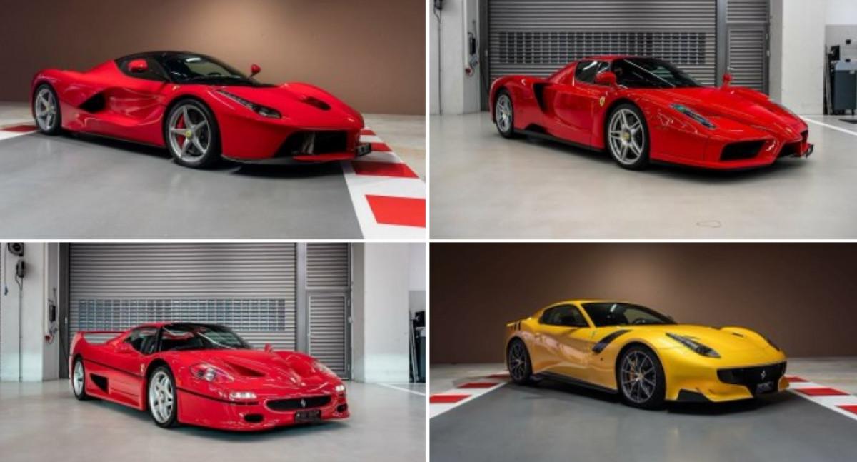 Sebastian Vettel prodaje nestvarnu kolekciju automobila