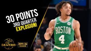 Rookie Celticsa Carsen Edwards zabio 8 trojki u jednoj četvrtini