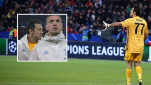 Buffonova urnebesna reakcija kad je shvatio da je kamera u blizini
