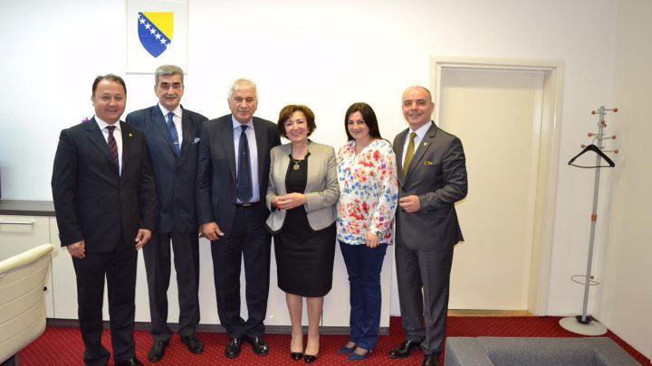 Čelnici OK BiH u pojseti ministrici kulture i sporta