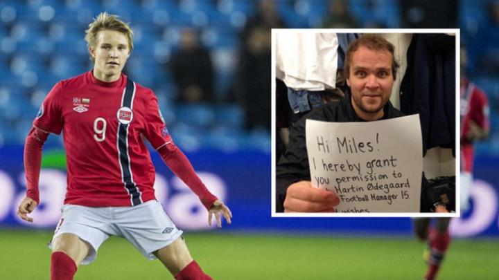 Realovo čudo od djeteta nije moglo na Football Manager bez očevog odobrenja