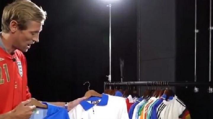 Crouchova kolekcija: Posebno je impresioniran dresovima jednog kluba