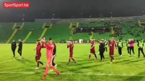 """Igrači ispraćeni šampionskom pjesmom, poseban """"tretman"""" za Husrefa Musemića"""