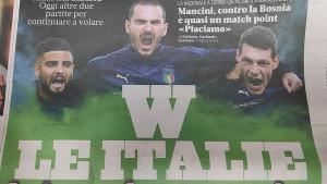 """Šta kaže italijanska štampa pred večerašnju utakmicu? """"Meč poen..."""""""