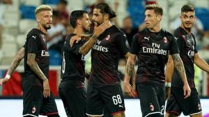 Milan slavio u Prištini, Krunić igrao poluvrijeme
