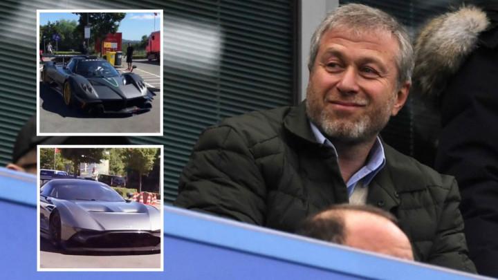 15 miliona funti u garaži: Nevjerovatna kolekcija automobila Romana Abramoviča!
