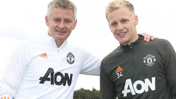 Donny van de Beek oduševio Solskjaera nakon debija za Manchester United