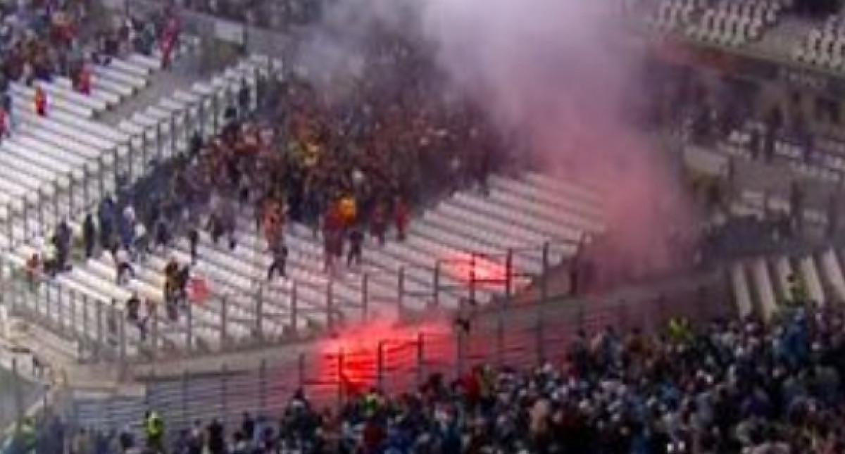 Neredi na tribinama: Navijači izazvali prekid na Velodromeu