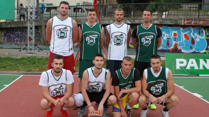 """Završen street basket turnir """"Pan 3 na 3"""""""