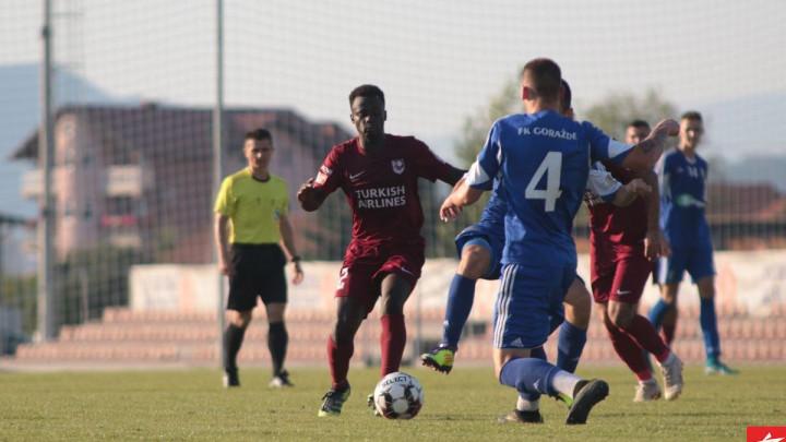 Golijada u Butmiru: FK Sarajevo pobijedio protiv FK Goražde
