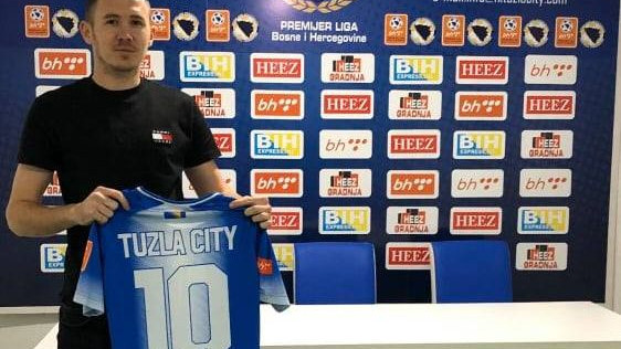 Filip Arežina novi član FK Tuzla City