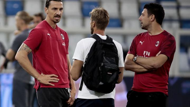 Pioli ostavio Ibrahimovića na klupi, baš kao Begovića i Krunića