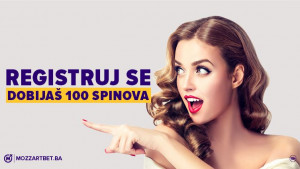 Uzmi 100 besplatnih spinova na Mozzart onlajn kazinu
