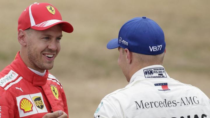 Vettel nakon trke: Greška je bila mala, a razočarenje veliko