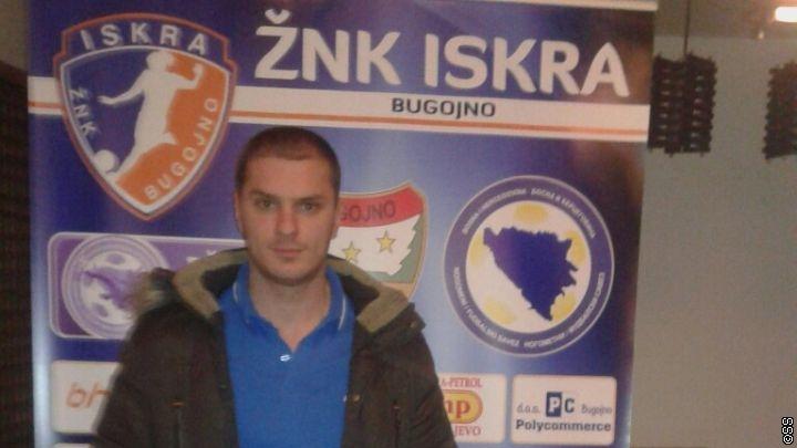 Smajo Duraković novi trener ŽNK Iskra Bugojno