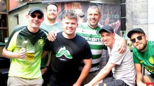 Prvi navijači Celtica stigli u Sarajevo: Puno dobrog raspoloženja i hladnog piva