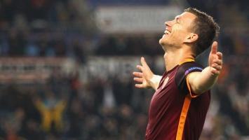 Ni veliki Totti to nije uspio: Džeko piše historiju Rome