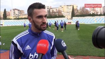 Bajić: Meč protiv Albanije je prilika da se dokažemo