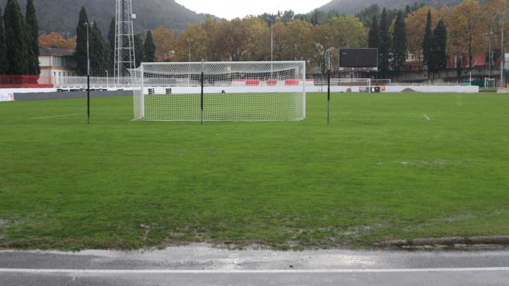 Kiša pravi velike probleme na stadionu pod Bijelim brijegom