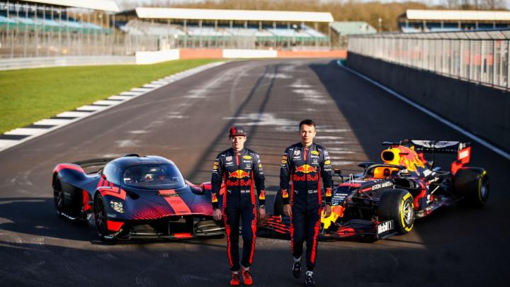 Verstappen i Albon testirali revolucionarni Aston Martin Valkyrie