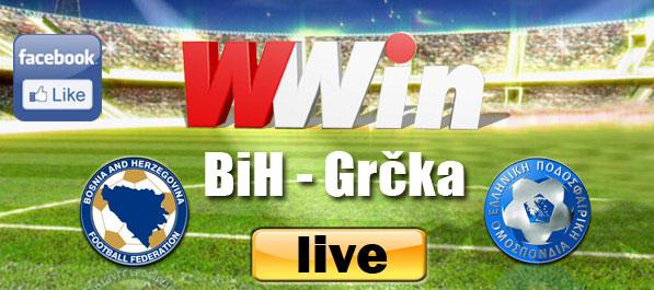 LIVE: BiH - Grčka