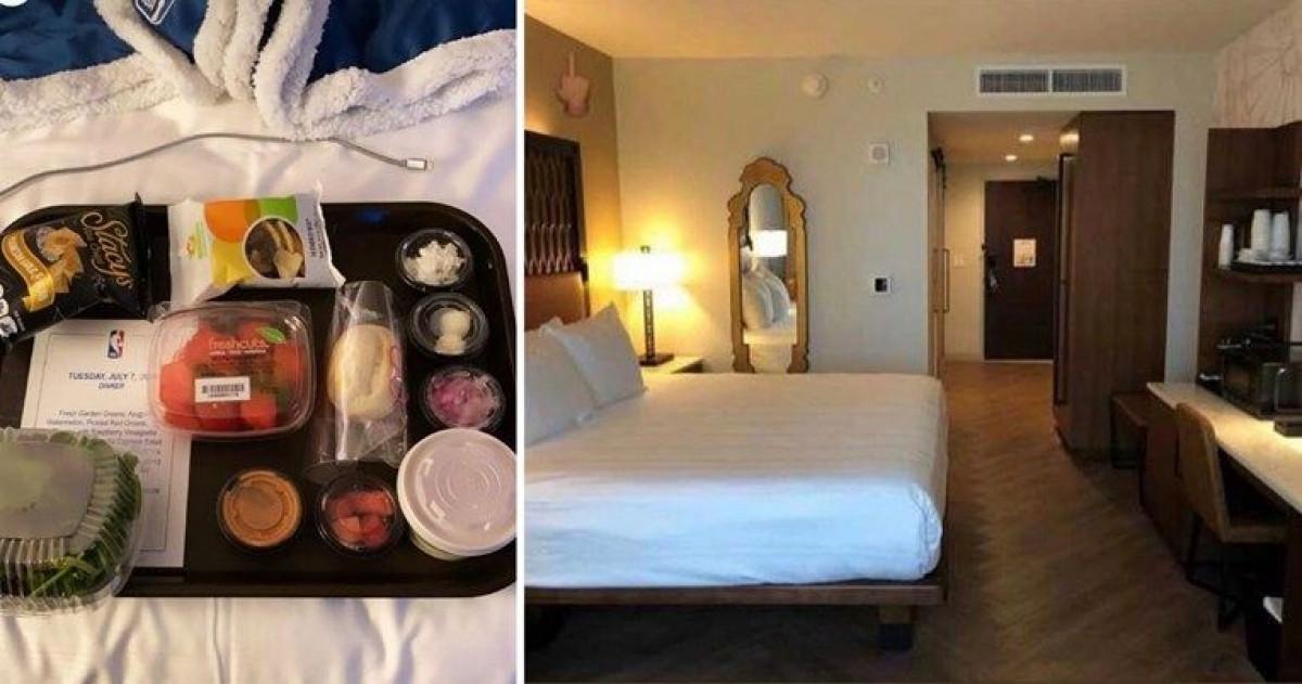 Razmažene NBA zvijezde se žale na sobe i hranu u hotelu